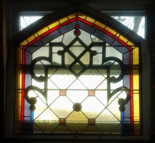 Arched Stained Glass Windows For Sale Images