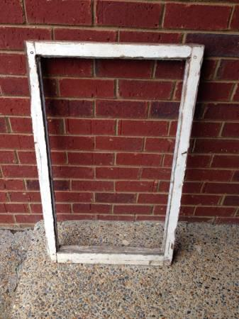 Old Distressed Wood Window Frame For Sale In Nesbit
