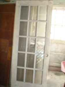 Old Doors/Old Windows - $175 (Fredericksburg)