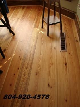 Old Growth Heart Pine Flooring