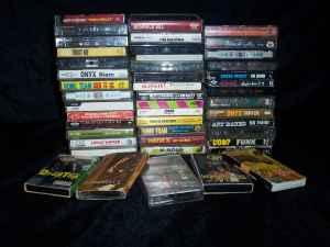 old school rap/hiphop/r&b (46) Cassettes - $10 (Chesapeake)