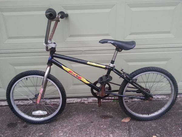 Cheap Brake Jobs >> Old School Vintage BMX GT Interceptor Black Bicycle - for Sale in Pasadena, Texas Classified ...