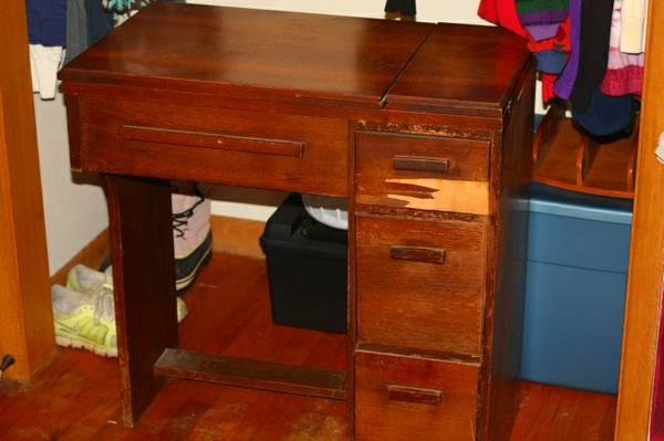 old sewing machine cabinet for sale in springfield missouri classified. Black Bedroom Furniture Sets. Home Design Ideas