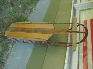 Old Sled ~Make Into A Pot Rack - $60 (Richmond)