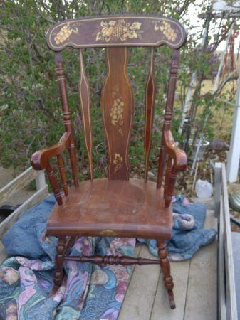 Old Style Rocking Chair   $40 (Farmington)