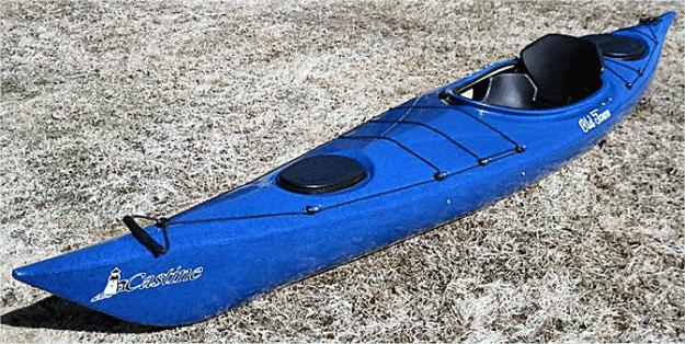 Old Town kayak ? Castine - 13 ft  - Polylink 3 construction ? Blue