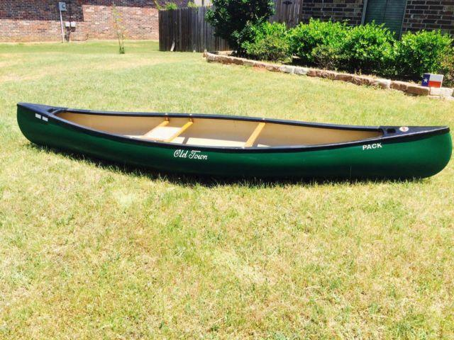 Old Town Pack Canoe (Solo) - $800