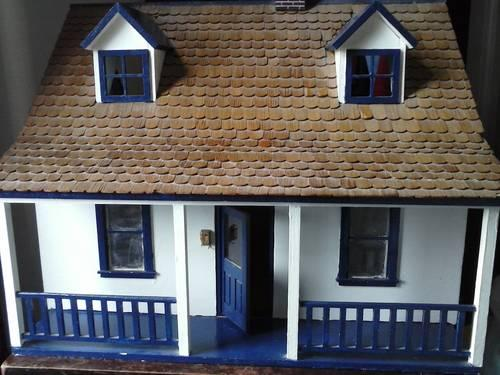Old Vintage Wooden Doll House Appeox 40 Yrs