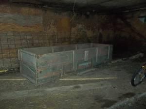 old wooden wagon box - $400 Bemidji area