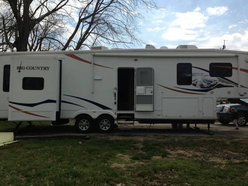 older motorhome trade for large bumper pull camper for sale in allensburg ohio classified. Black Bedroom Furniture Sets. Home Design Ideas
