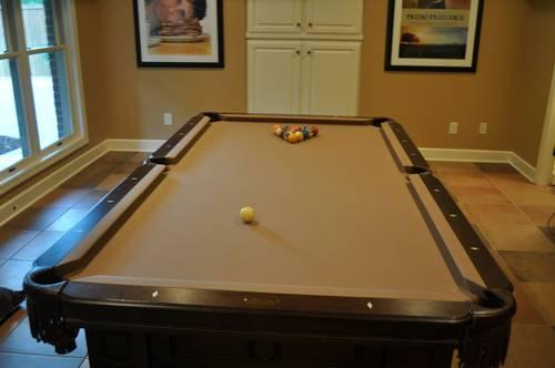 Olhausen 8u0027 Remington Pool Table, Ping Pong Top, And