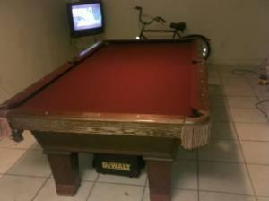 Pool Table Olhausen Gem For Sale In California Classifieds Buy And - Pool table movers bakersfield ca