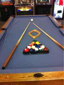 Olhausen pool table - $900 (Springfield)