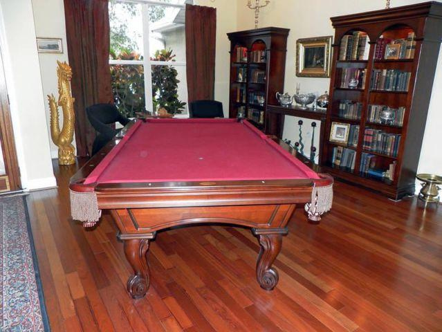 Olhausen Santa Ana Pool Table With Accessories For Sale In - Santa ana pool table