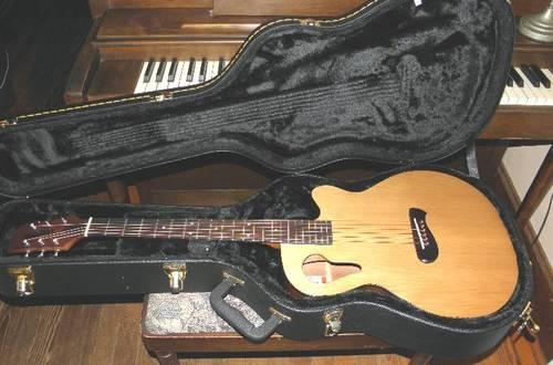 olympia by tacoma omc1ce mischief acoustic electric guitar w case for sale in boswell. Black Bedroom Furniture Sets. Home Design Ideas