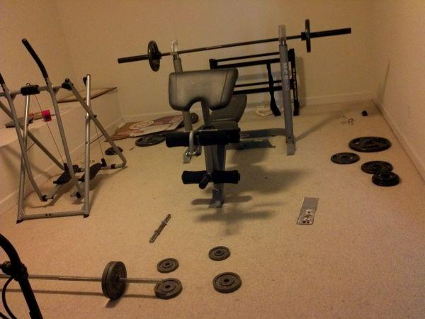 Olympic Weight Bench Spanish Fort For Sale In Mobile Alabama Classified