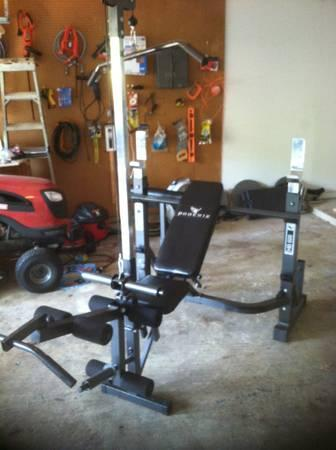 Olympic Weight Bench W Lat Tower For Sale In Shreveport Louisiana Classified