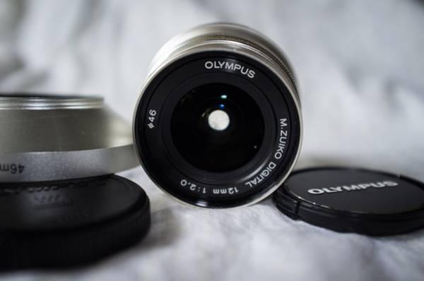 Olympus 12mm 2.0 lens - $600