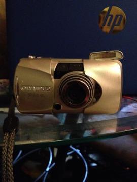 Olympus Stylus 120 35mm camera working