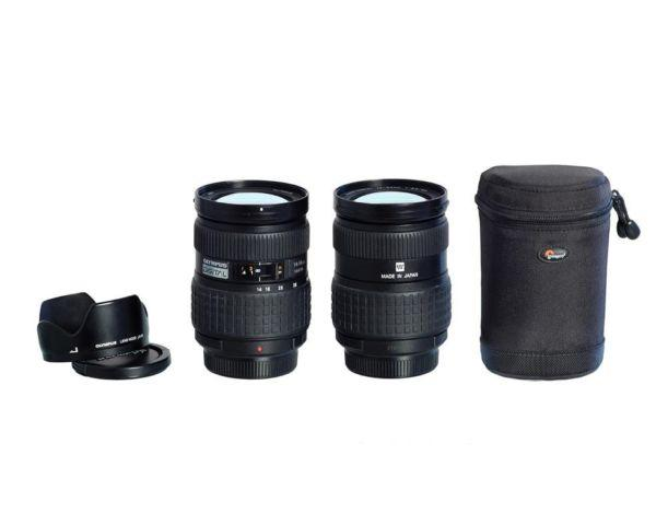 Olympus Zuiko Lens and Extension Tube with Lens Cases