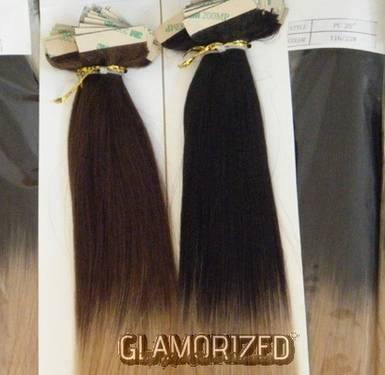 OMBRE STYLE TAPE-IN HAIR EXETENSIONS