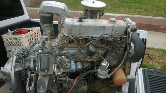 OMC 4-Cyl  Marine Engine 3 0L Running