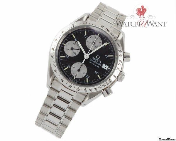 omega speedmaster automatic chronograph date 3511 50 Find great deals for omega mens speedmaster 351150 automatic chronograph date steel black watch shop with confidence on ebay.