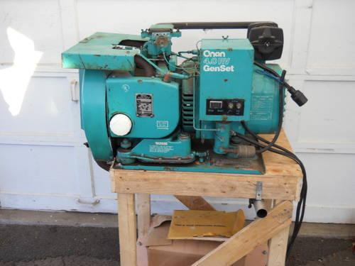 ONAN 4000 WATT RV GENERATOR SET