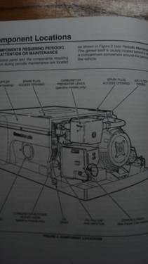 Onan RV Genset Generator 6800 watts  in crate