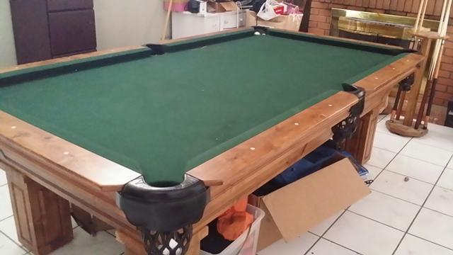 One Of A Kind Piece Italian Slate Pool Table For Sale In Mesa - Italian pool table