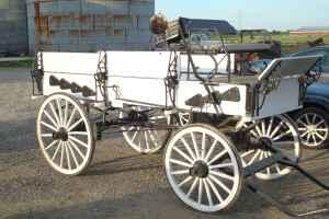 One Of A Kind Horse Drawn Wagon Pataskala For Sale In