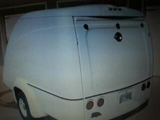 One of kind,motorcycle Fiberglass Utility trailer