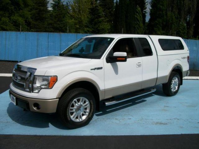 one owner 2010 ford f150 super cab lariat 4x4 pickup w only 44k miles for sale in vancouver. Black Bedroom Furniture Sets. Home Design Ideas