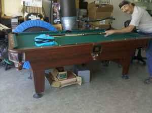 Only 250 full size pool table monterey for sale in for Pool show monterey