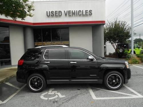 ONYX BLACK 2010 GMC TERRAIN SLT-2 2WD SPORT LUXURY SUV*LEATHER*MOONROO for Sale in Greensboro ...