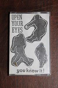 OPEN YOUR EYES tape comp ORIGINAL demo, Insted, Unit