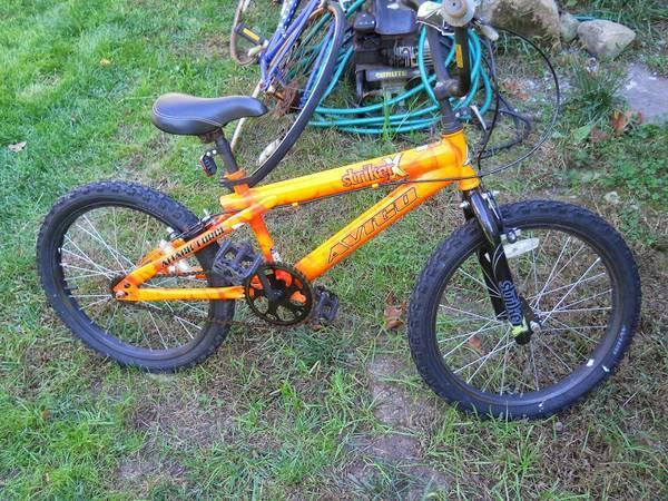 Orange Avico Striker X Attack Force Bmx Bicycle 20 Quot Tires