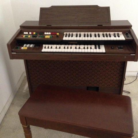 Organ yamaha electone model 115d for sale in brooksville for Yamaha electone organ models