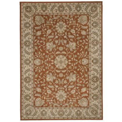 Orian Rugs Bursa Leather 6 ft. 7 in. x 9 ft. 8 in. Area
