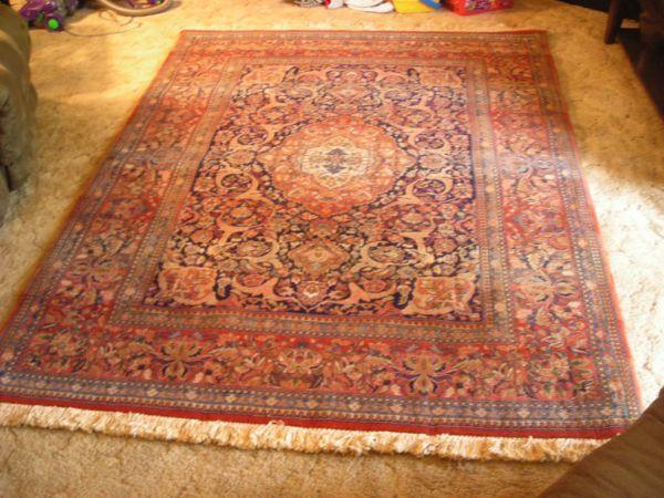 Oriental Rug Egyptian Wool Stevens Signature Never Used