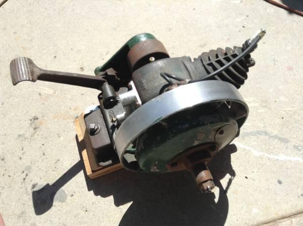 ORIGINAL 1929 MAYTAG MODEL 92 HIT AND MISS ENGINE..BARN FRESH...RUNS - $350