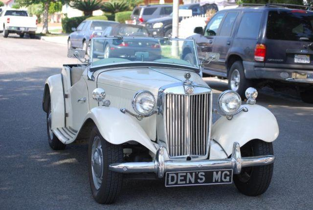 Original 1952 Mg T Series Td Roadster For Sale By Owner
