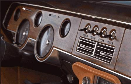 Original 1967-XR7 Mercury Cougar Dash Board