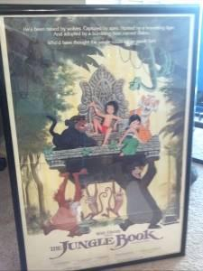 Original Disney Jungle Book Movie poster - $50