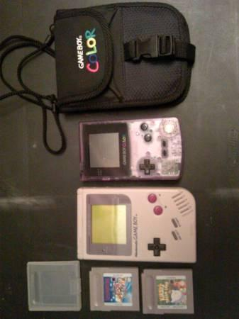 Original GameBoy & GameBoy Color With Extras!!!! - $50