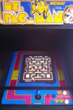 Original Ms Pacman upright arcade game multicade w 60 games