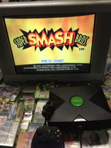 Original XBOX Converted into Retro Game Jukebox - Sega,