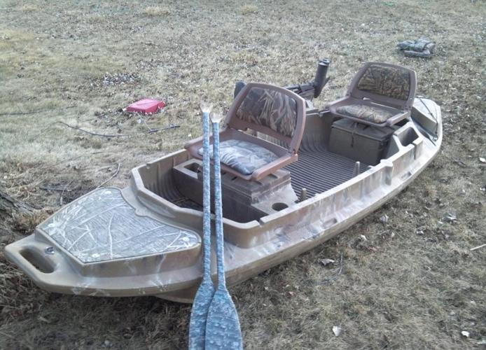 Otter Boat Stealth 2000 With Extra Seat Motor Mount