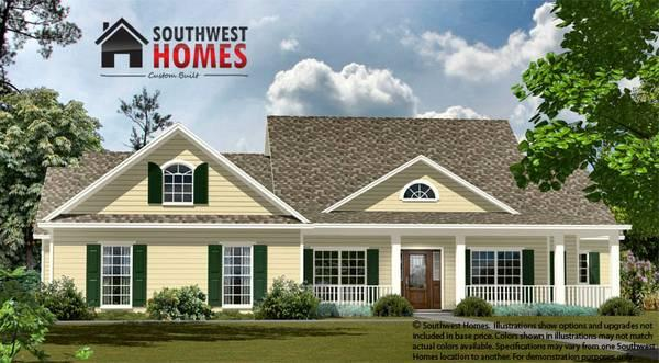 Our Newest Floorplan The Cypress Southwest Homes For Sale