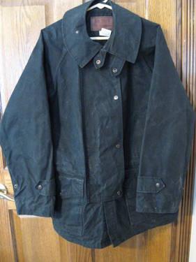 Outback Trading Oilskin Duster Coat Jacket